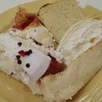 スイーツパラダイス - ミルクレープ ショートケーキ ベイクドチーズケーキ プリンロール  キャラメルシフォンケーキ