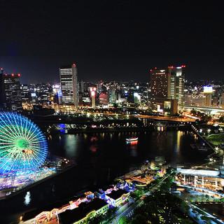 ■夜景個室完備■横浜駅前で各種宴会を♪