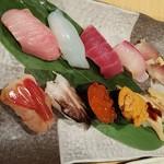 70039204 - 寿司満足セット10貫