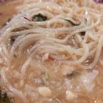 鯛塩そば 灯花 - 納豆とろろ特選冷やし(880円)+味玉(VIPクーポン)