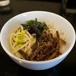 清香園 - ナムルが美味