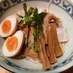 鯛だしそば・つけ麺 はなやま - 鯛だしつけ麺(全トッピング)