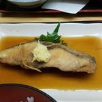 新蔵 - 煮魚定食 沖〆鯛の煮つけ
