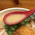 らーめん 北の大地 - 白味噌スープ