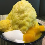 ICE MONSTER - 新鮮芒果綿花甜250NT$≒930円