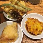 釜たけ流 うめだ製麺所 - 別皿へあえて回避… (^_^)