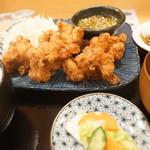 産直仕入れの北海道定食屋 北海堂 - ザンタレ定食