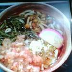 蕎麦処 大武 - 山菜うどん