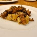 70044599 - イタリアの馬肉、ジロール茸のラグーソース パッパルデーレ