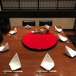 榮林 - 10人で予約したので2Fの個室に案内されて