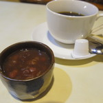 ルイ - ぜんざいとコーヒーもサービス