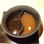 温野菜 - 料理写真:鍋。これを野菜鍋に変えます。