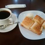 カフェ食堂みどり - モーニングセット500円