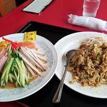 蓬莱閣 - 料理写真:冷麺と焼き飯のセット