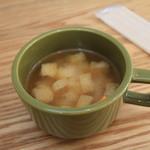 スリーリトル バーズ カフェ - お味噌汁でした