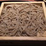 紗羅餐 ミッドランドスクエア店 - 鯛の梅紫蘇巻きと山菜の天婦羅10割蕎麦セット。紗羅餐 ミッドランドスクエア店(名古屋駅前)食彩品館.jp撮影
