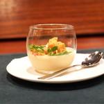 osteria LIU - ☆玉蜀黍の冷製クリーム
