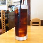 キッチンれん - 豚生姜焼き 900円 のアイスコーヒー