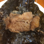 彩雲瑞 - [荷葉肉] 煎り米入り豚バラ肉のハスの葉蒸し