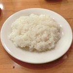 キッチンれん - 豚肉の生姜焼き+ライス 1000円 のライス