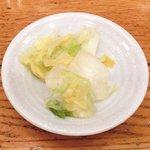キッチンれん - 豚の生姜焼き 900円 の香の物