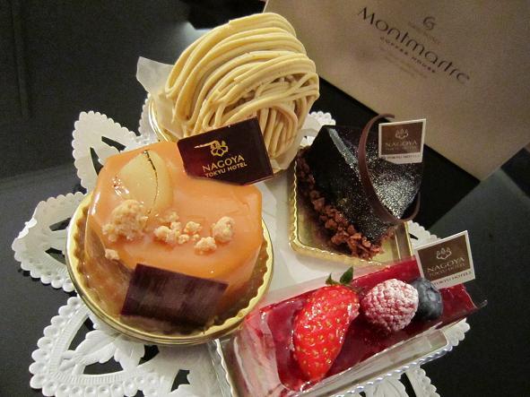 モンマルトル - ケーキ4種
