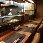 創味魚菜 いわ倉 - カウンター