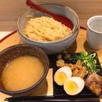 麺屋 音 別邸 - 夏季限定 冷し塩生姜つけ麺800円