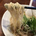70050826 - 塩らぁ麺 麺アップ