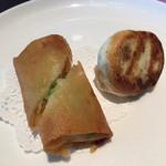 星期菜ヌードル&シノワ - 揚げ物と焼き物点心
