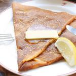 ガレットリア - バターと砂糖 レモン風味