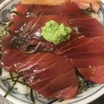 やきとり おくしり - まぐろ漬け丼(750円)