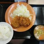 かつや - 2017年6月 メンチカツ定食 702円