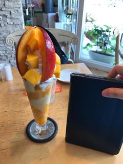 たなかフルーツ - 大きさ比較にiPad 2