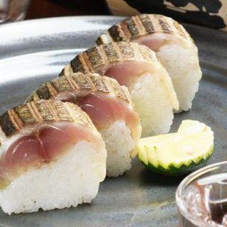 必食!【極厚さば棒寿司】と【黒毛和牛握り】は絶品です◎