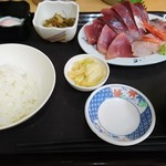 70054996 - 刺身定食(850円)