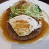 グルヌイユ - 料理写真:和風味ハンバーグ