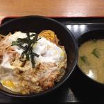 松乃家 - ロースかつ丼(税込490円)