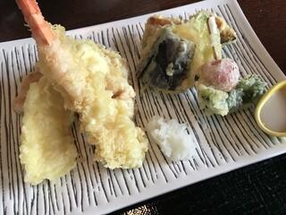 レストラン櫻 - 天婦羅アップ