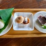 cafe たねの隣り - 和菓子セット(ドリンク付) 1026円