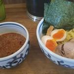 ラーメン サンガ - 特製つけ麺 印象風