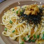 鎌倉パスタ - 雲丹とイクラのクリームパスタ