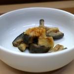 家庭料理 小川 - 茄子の浅漬け