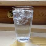家庭料理 小川 - 芋水割り