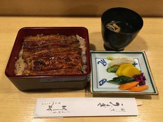 川桝 - 鰻重(3600円)