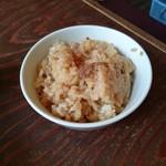 麺者 風天 - 追い飯