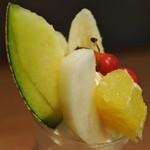 ザ・カエン - フルーツパフェ