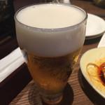 アジアンビストロDai - ランチビール@350円