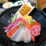がってん寿司 - 豪華海鮮丼¥1680