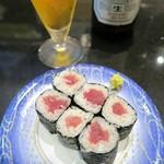 がってん寿司 - 大好きな鉄火巻き